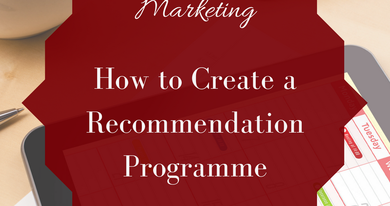 recommendation programme
