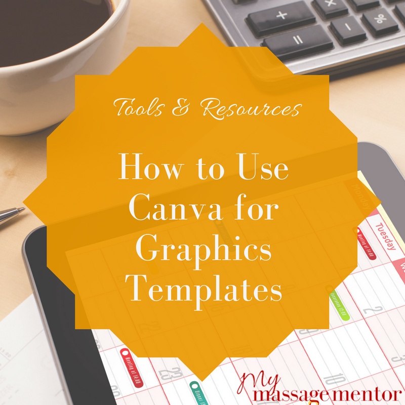 how to use canva for graphic templates